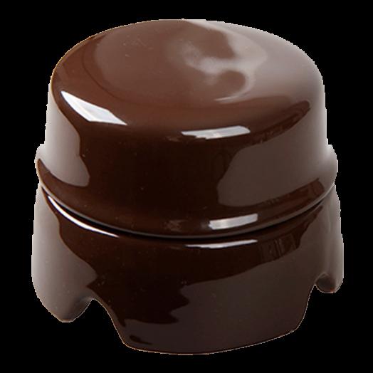 Распределительная коробка Salvador, цвет: коричневый