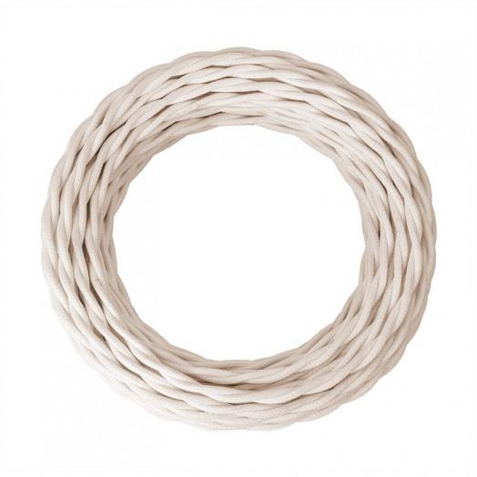Ретро провод силовой (ГОСТ), цвет: слоновая кость. Retro Electro (ОКБ «Гамма»)