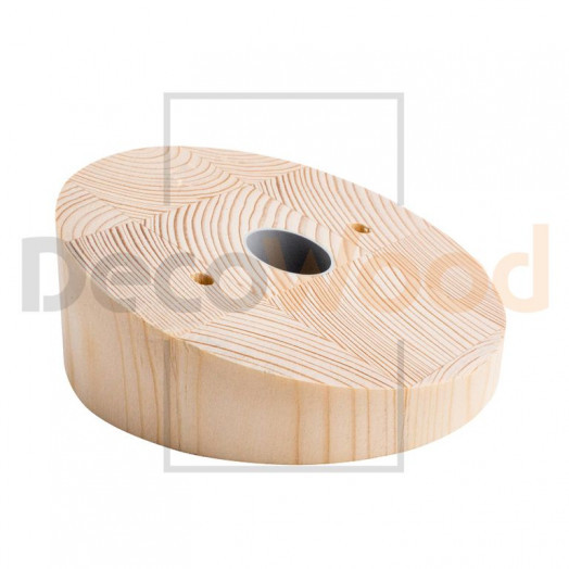 Накладка потолочная, угол скоса 15 (20) градусов, d120 мм