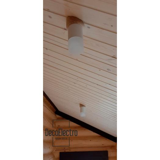 Накладка потолочная, угол скоса 25(30) градусов, d140 мм