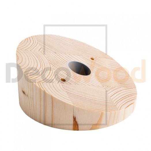 Накладка потолочная, угол скоса 15 (20) градусов, d140 мм