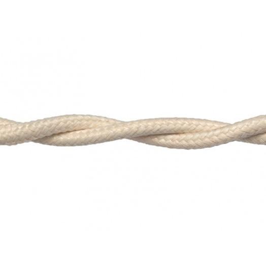 Витой провод Retrika, цвет: слоновая кость
