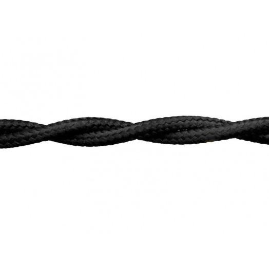 Витой провод Retrika, цвет: чёрный