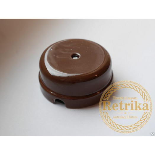 Распределительная коробка Retrika, цвет: коричневый