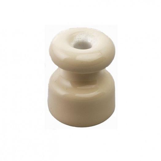 Изолятор керамический iRetrika, цвет: слоновая ксоть