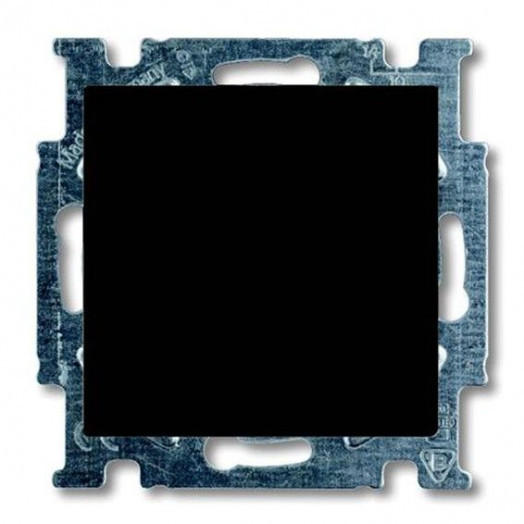 Переключатель одноклавишный ABB Basic 55, Chateau-Black