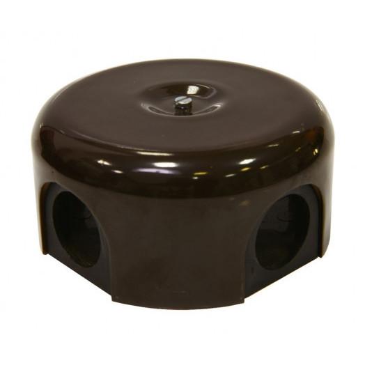 Распределительная коробка Lindas, цвет: коричневый
