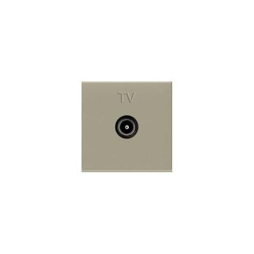 Розетка TV одиночная, ABB Zenit, цвет: шампань