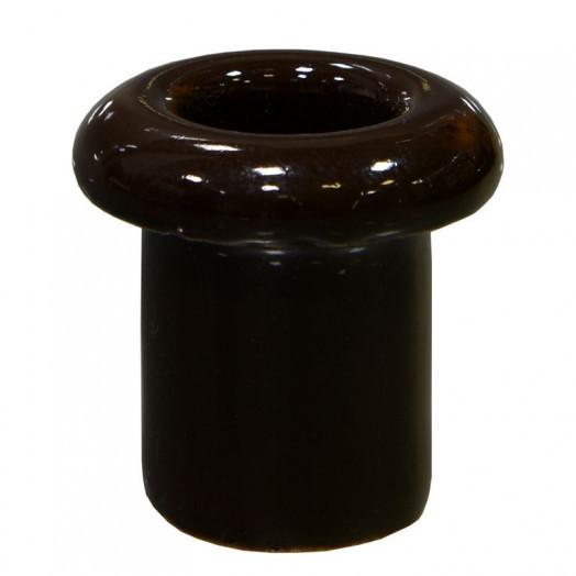 Проход для стены керамический, Lindas, цвет: коричневый