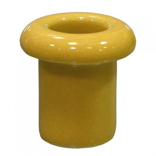Проход для стены керамический, Lindas, цвет: золото