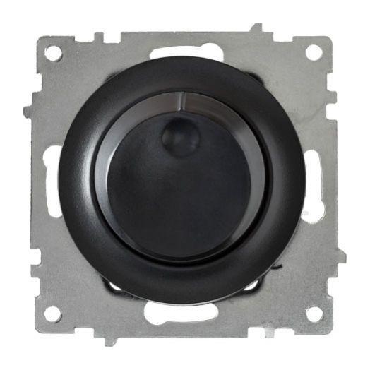 Светорегулятор OneKey 600Wдля ламп накаливания и галогенных ламп, цвет чёрный