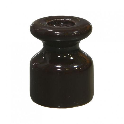 Изолятор керамический iLindas, цвет: коричневый